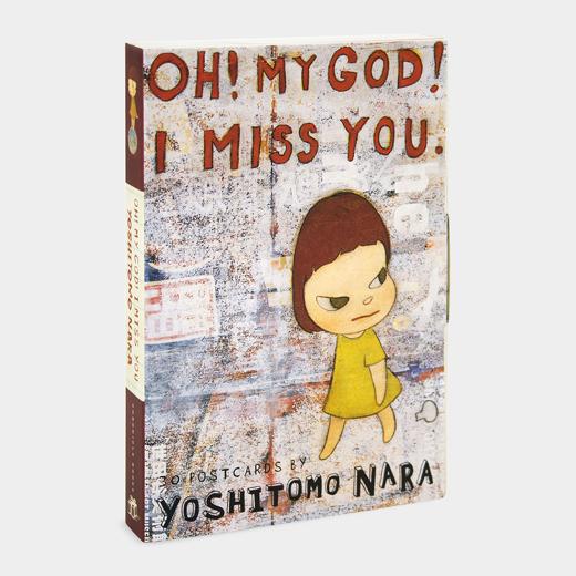 奈良美智:Oh! My God! I Miss You! ポストカードセットの商品画像