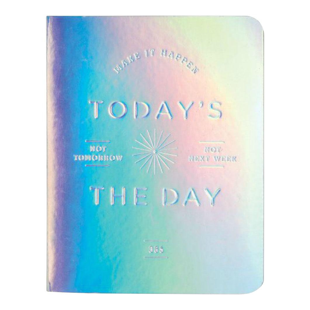 日付なしプランナー TODAY'S THE DAY シルバーの商品画像