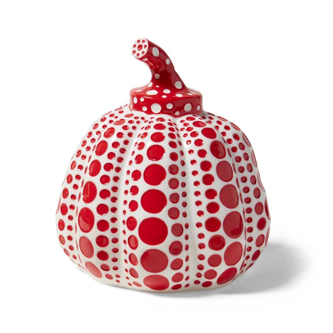 草間彌生:オブジェ PUMPKIN レッドの商品画像