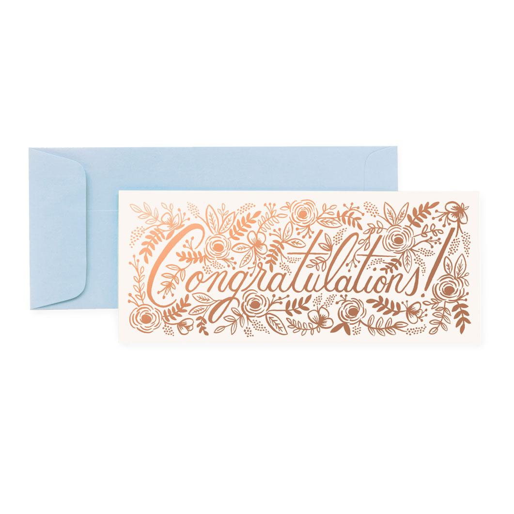 シャンパンコングラッツ・ランドスケープカードの商品画像
