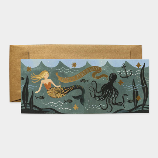 MoMA STOREUnder The Sea Birthday(アンダーシー・バースデー)・カード