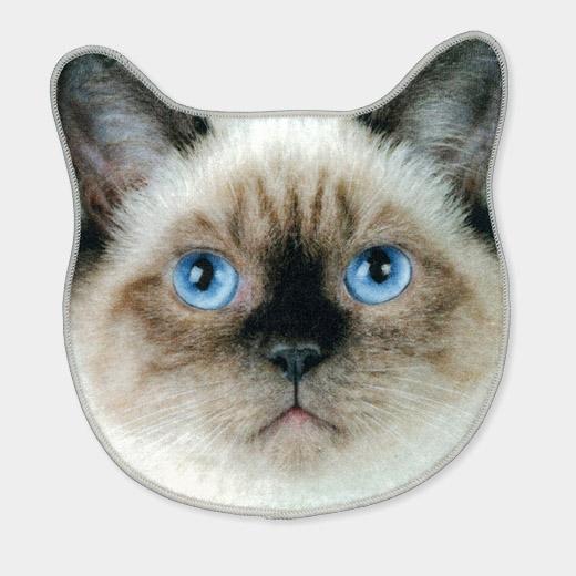 リアルモチーフ タオル シャムの商品画像