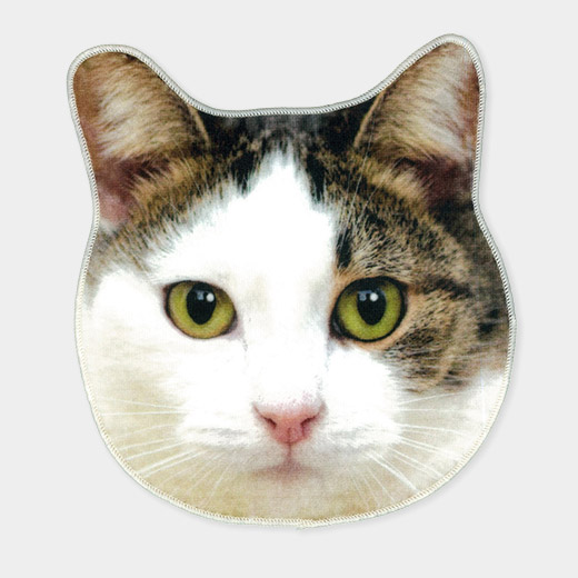 リアルモチーフ タオル ネコの商品画像
