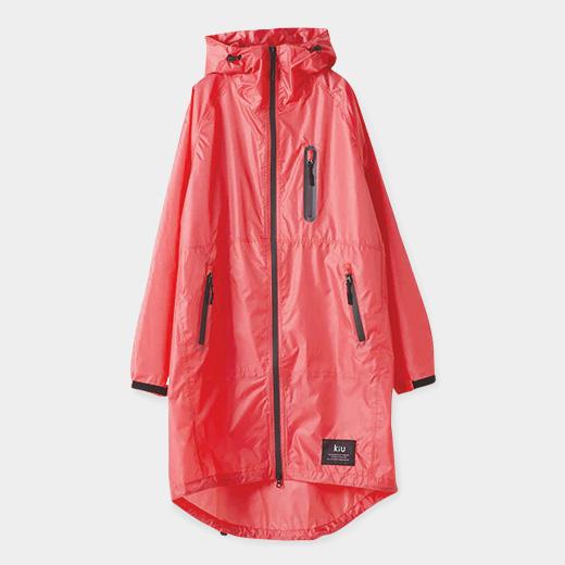 KiU レイン ジップアップ ジャケット ピンクの商品画像