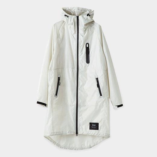 KiU レイン ジップアップ ジャケット ベージュの商品画像