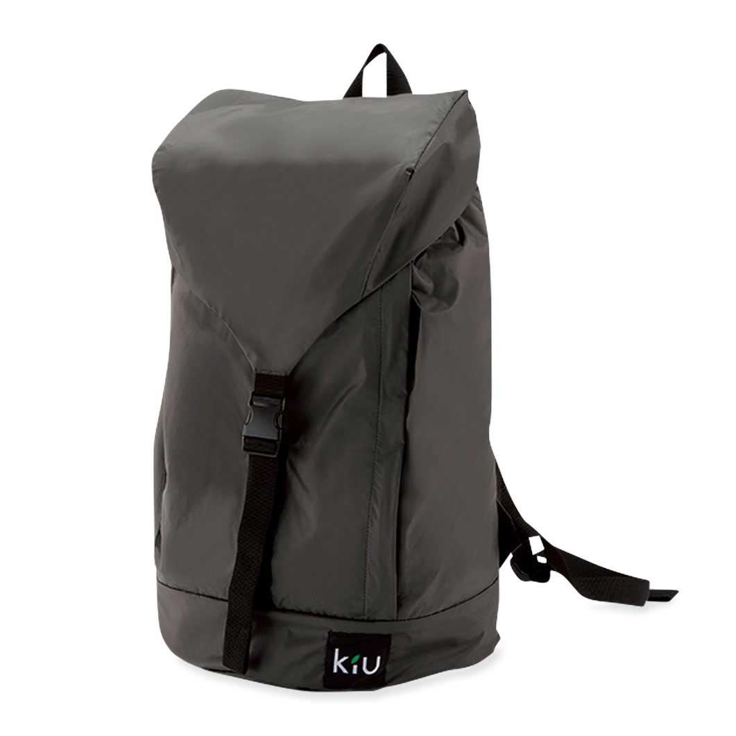 KiU パッカブル レイン バックパック グレーの商品画像