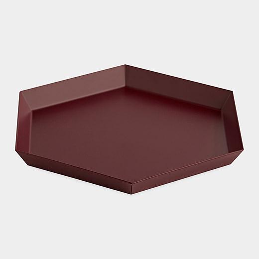 HAY Kaleido トレー S チョコレートの商品画像