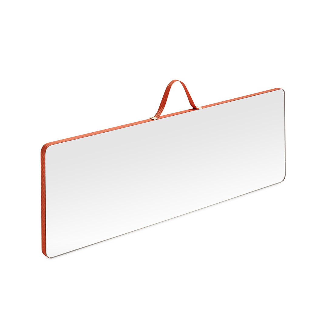 HAY レクタンギュラーミラー ラージ レッドの商品画像