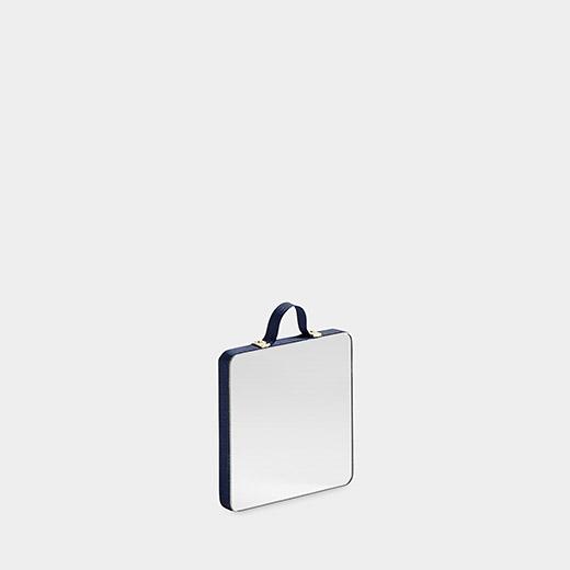 HAY スクエアミラー XS ブルーの商品画像