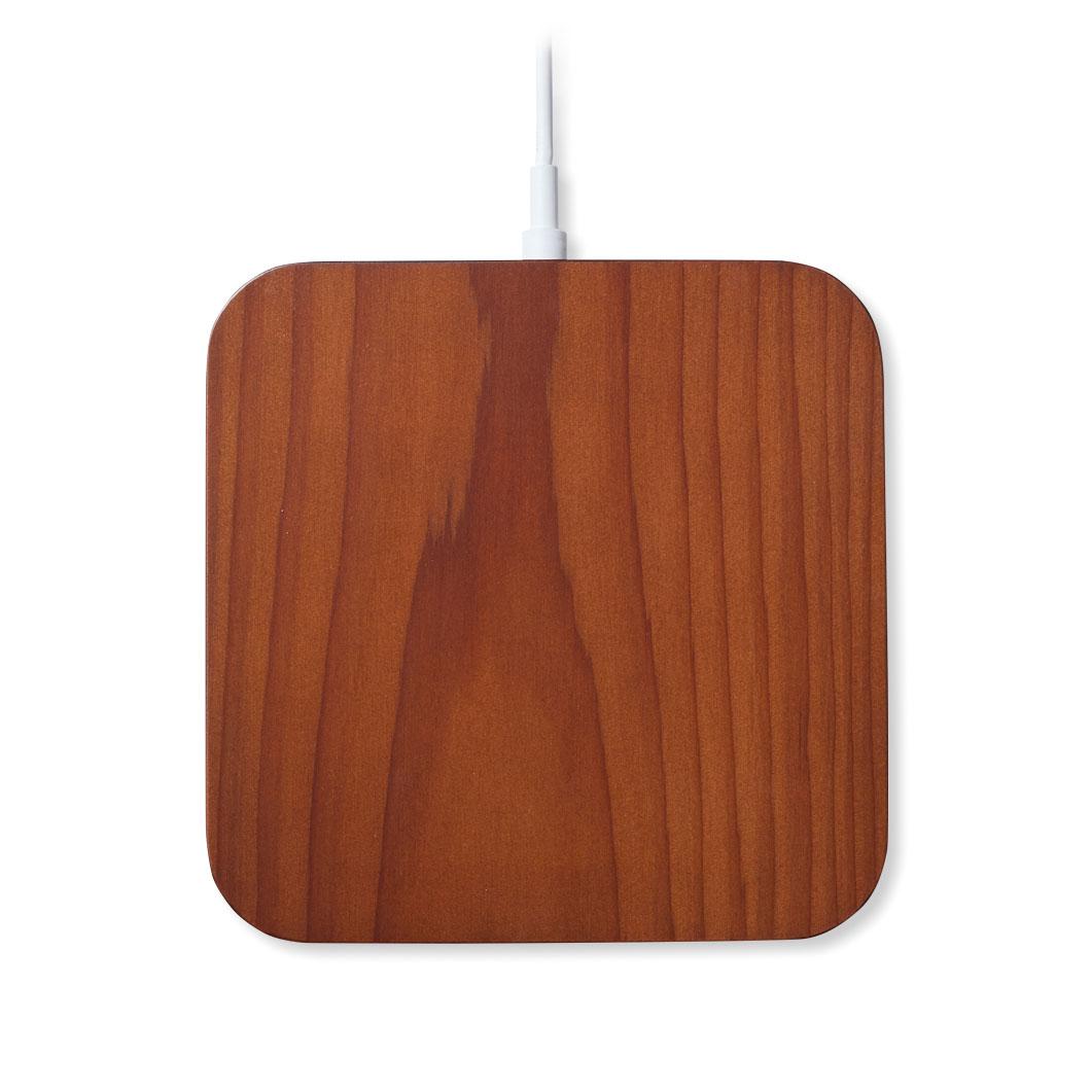 Rest ワイヤレス チャージャー iPhone6ケース付 ダークブラウンの商品画像