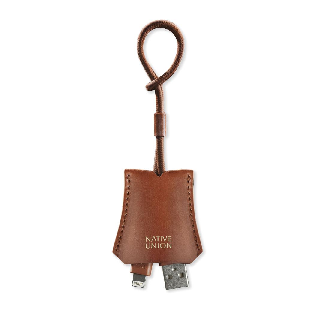 USBケーブル ライトニング タグケーブル Native Union ブラウンの商品画像