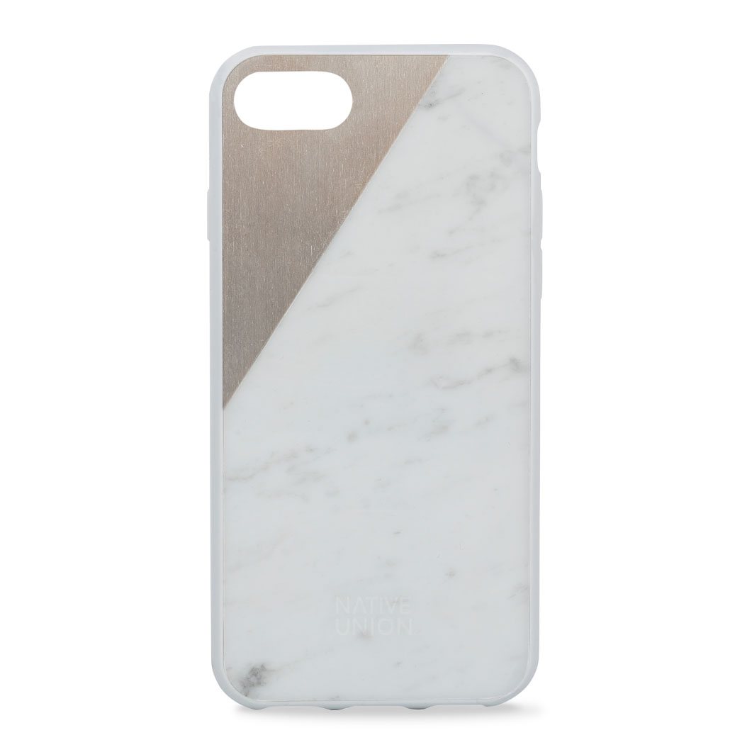 Native Union iPhone 7 ケース マーブルホワイト