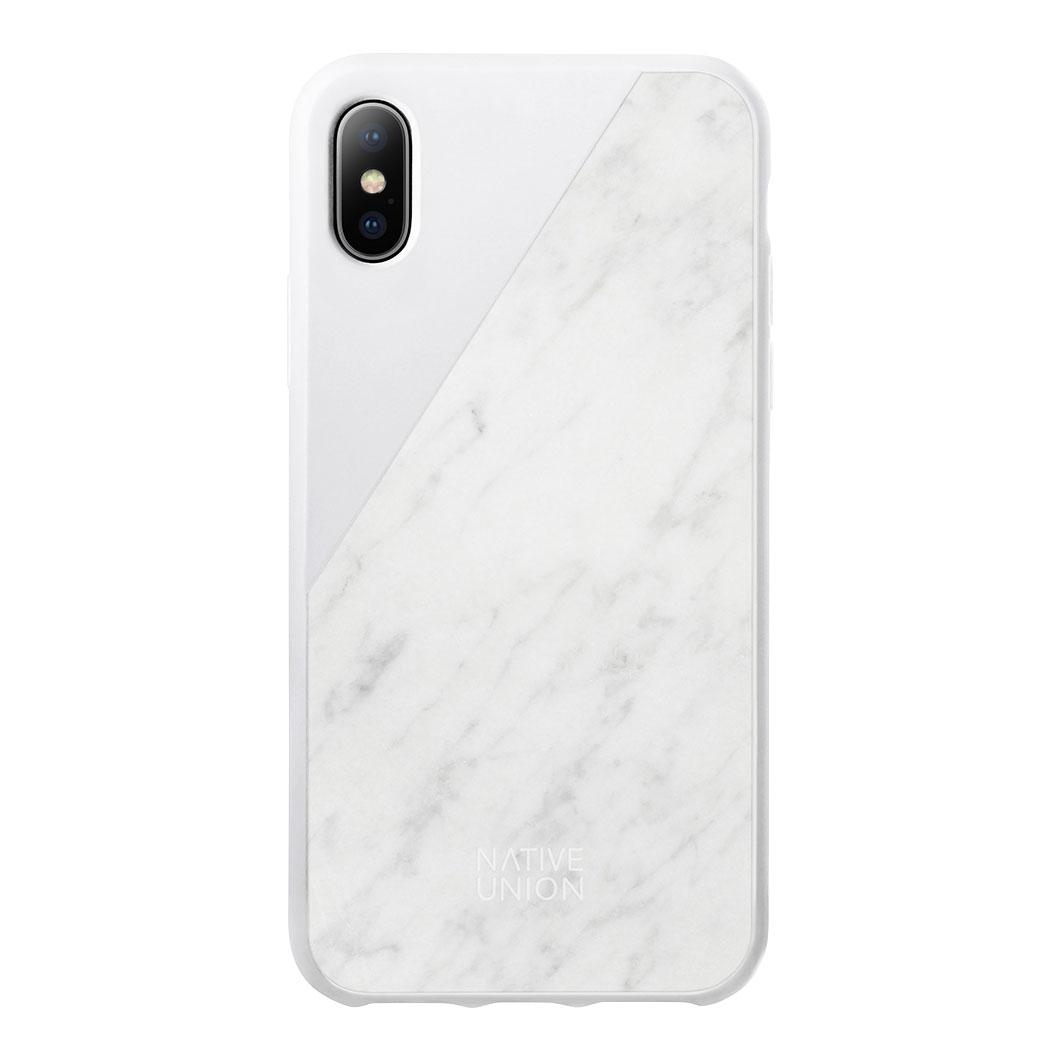 Native Union iPhone X ケース マーブルホワイトの商品画像