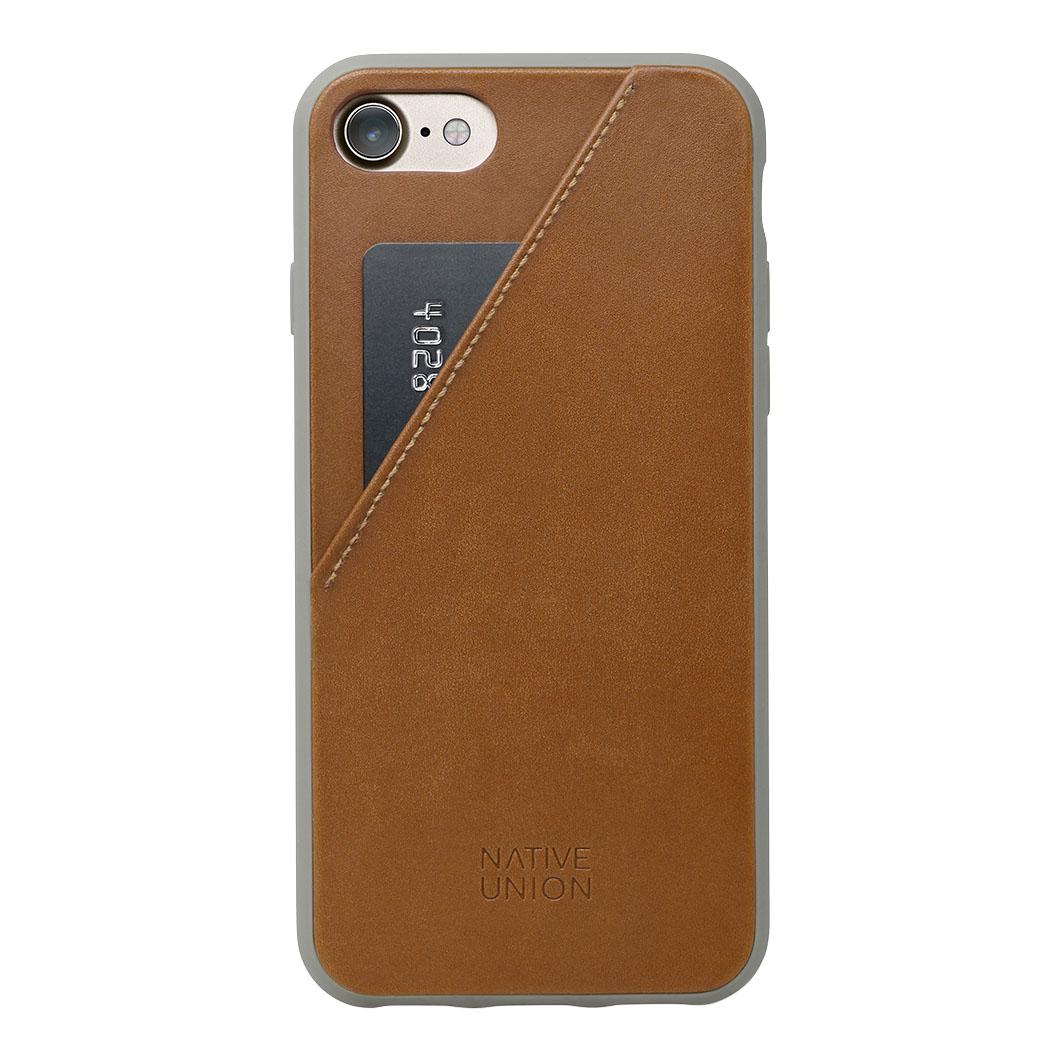 Native Union iPhone 7/8 ケース カード レザータンの商品画像