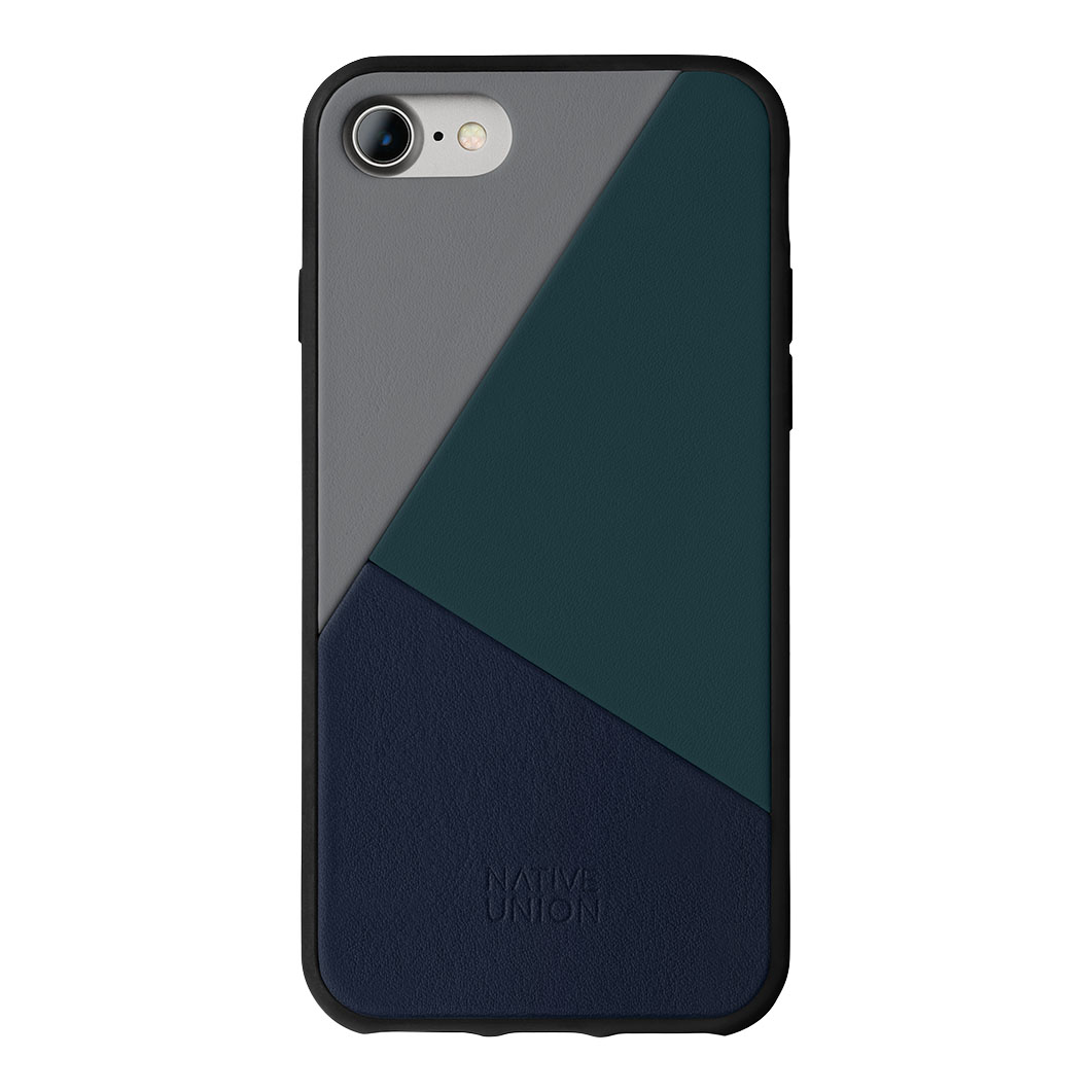Native Union iPhone 7/8 ケース トリコレザー ブルーの商品画像