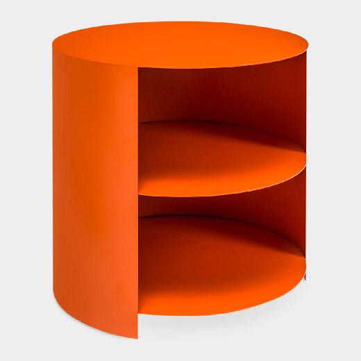 ハイド サイドテーブル オレンジの商品画像