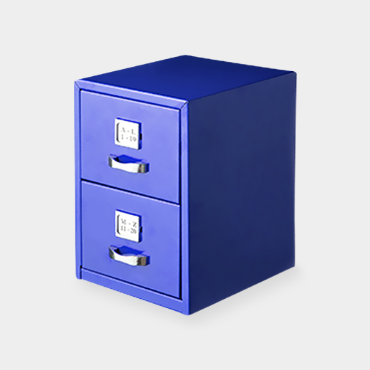 アイアンカードボックス ブルーの商品画像