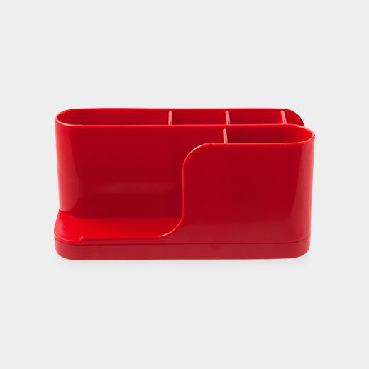 アプラムデスクオーガナイザー レッドの商品画像