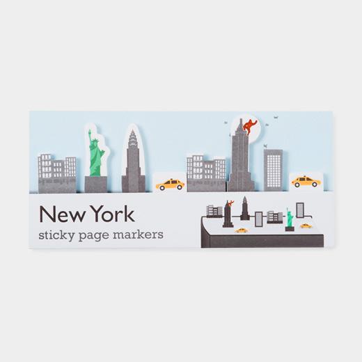 スティッキー ページマーカー NYの商品画像