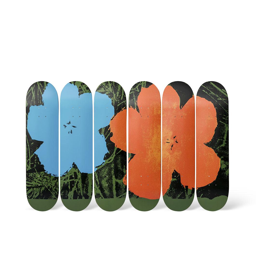 ウォーホル:スケートボード Flowersの商品画像