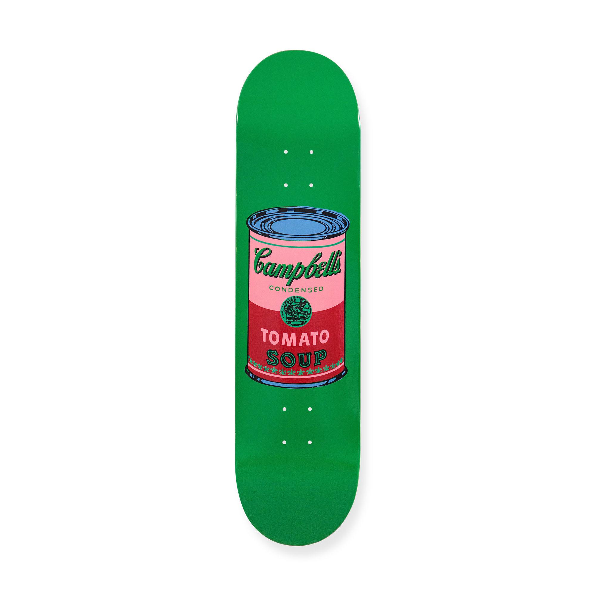 ウォーホル:スケートボードColored Campbell's Soup Cans Bloodの商品画像