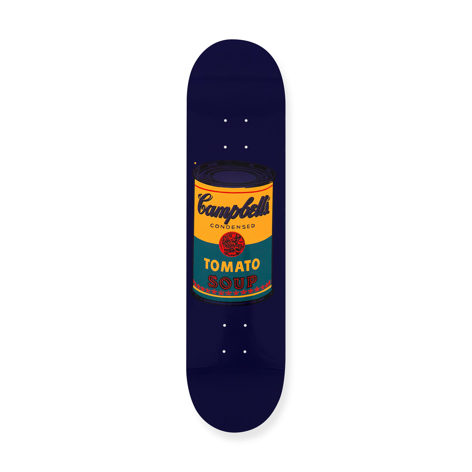 ウォーホル:スケートボードColored Campbell's Soup Cans Tealの商品画像