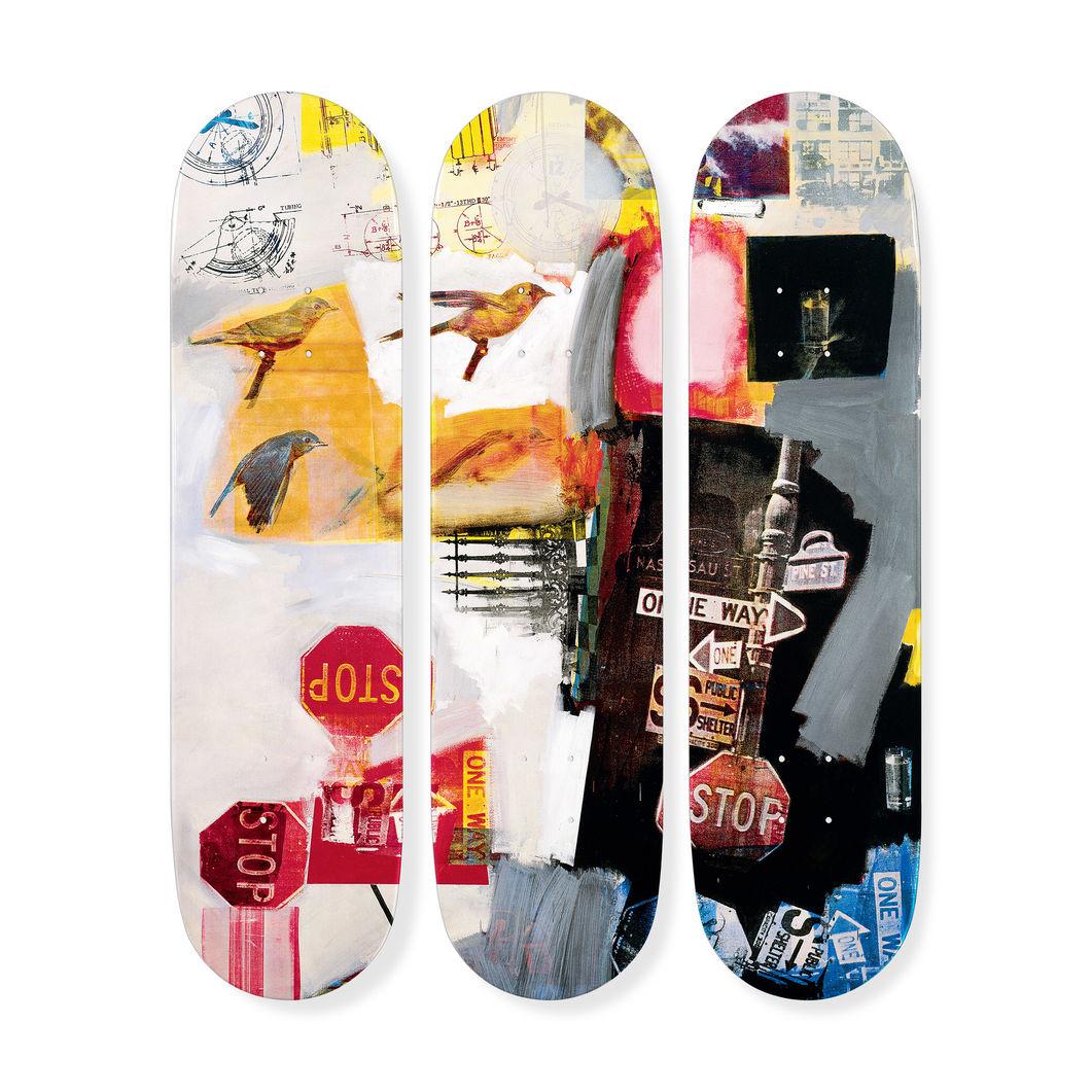 ロバート・ラウシェンバーグ:スケートボード Tryptch Overdriveの商品画像