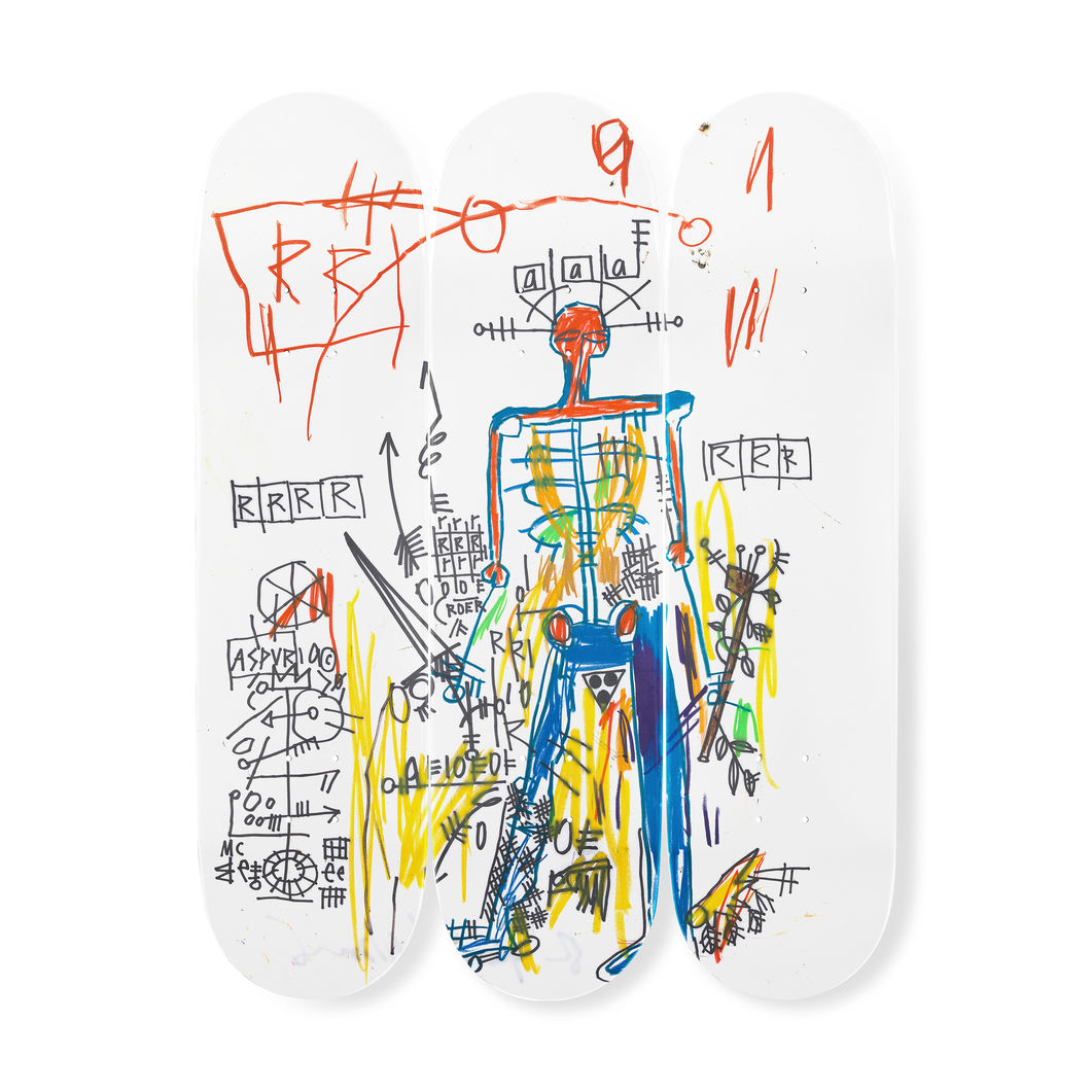 バスキア:スケートボード Tryptch Robotの商品画像