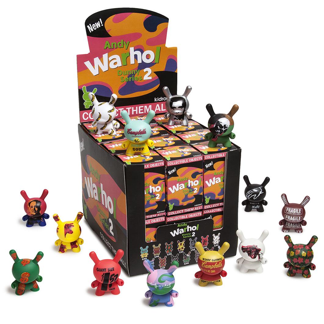 Kidrobot Dunny 2.0 ウォーホル ボックスの商品画像