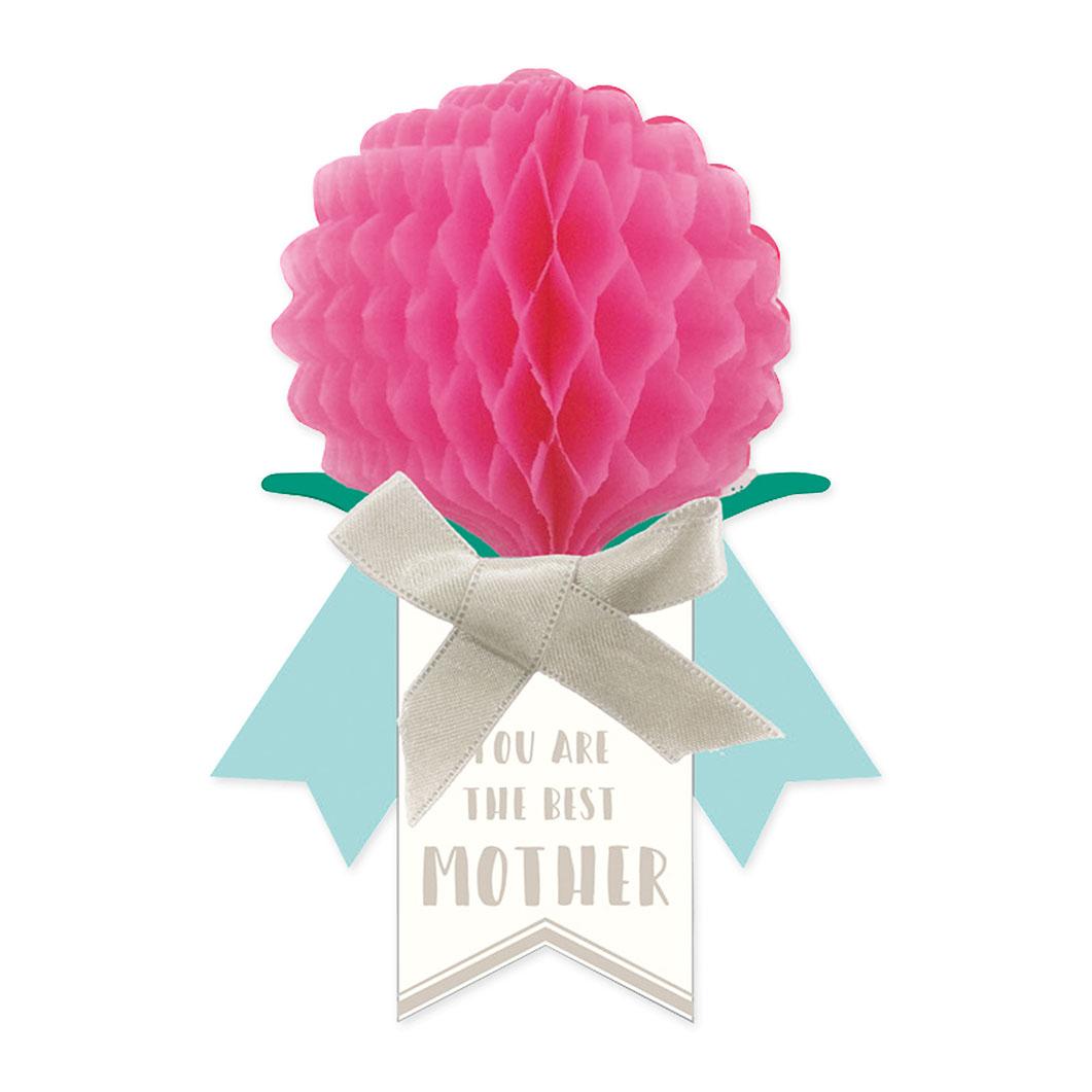 ハニカム カーネーションカード ピンクの商品画像