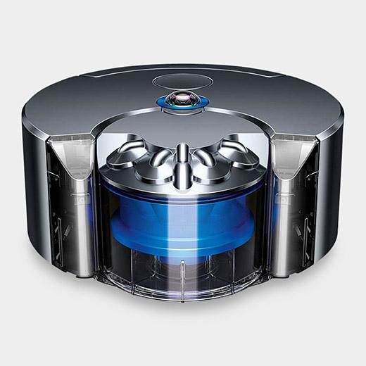 Dyson 360 Eye ロボット掃除機 ニッケル/ブルーの商品画像