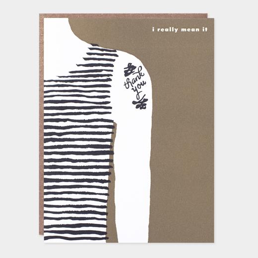 メッセージカード サンクス タトゥの商品画像