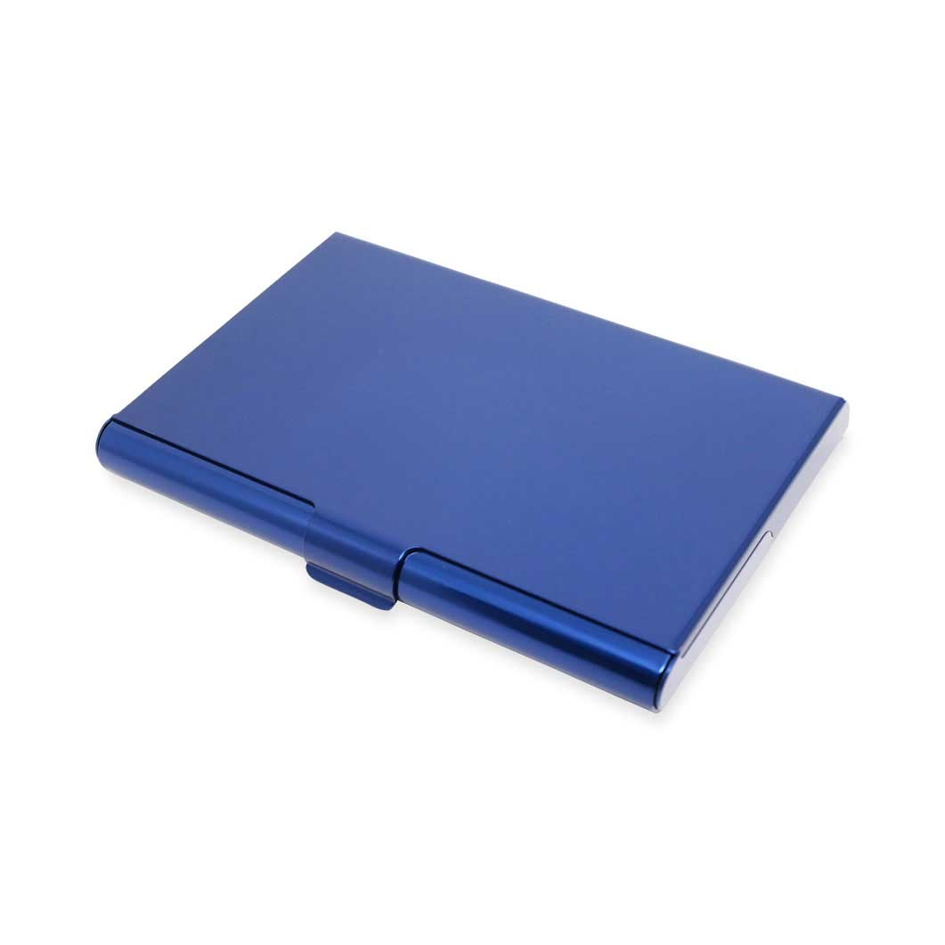 アルマイト カードケース ネイビーの商品画像