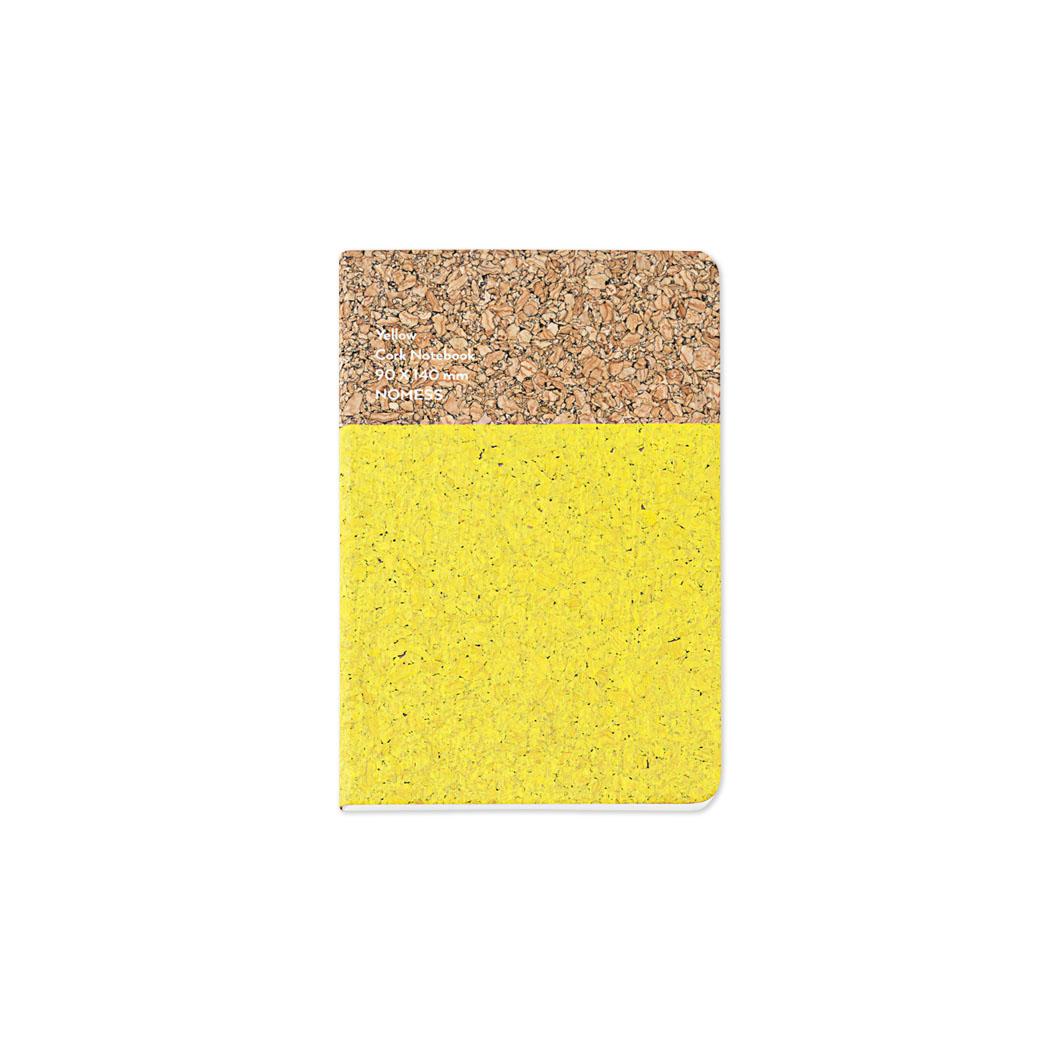 コルクノートブック S イエローの商品画像