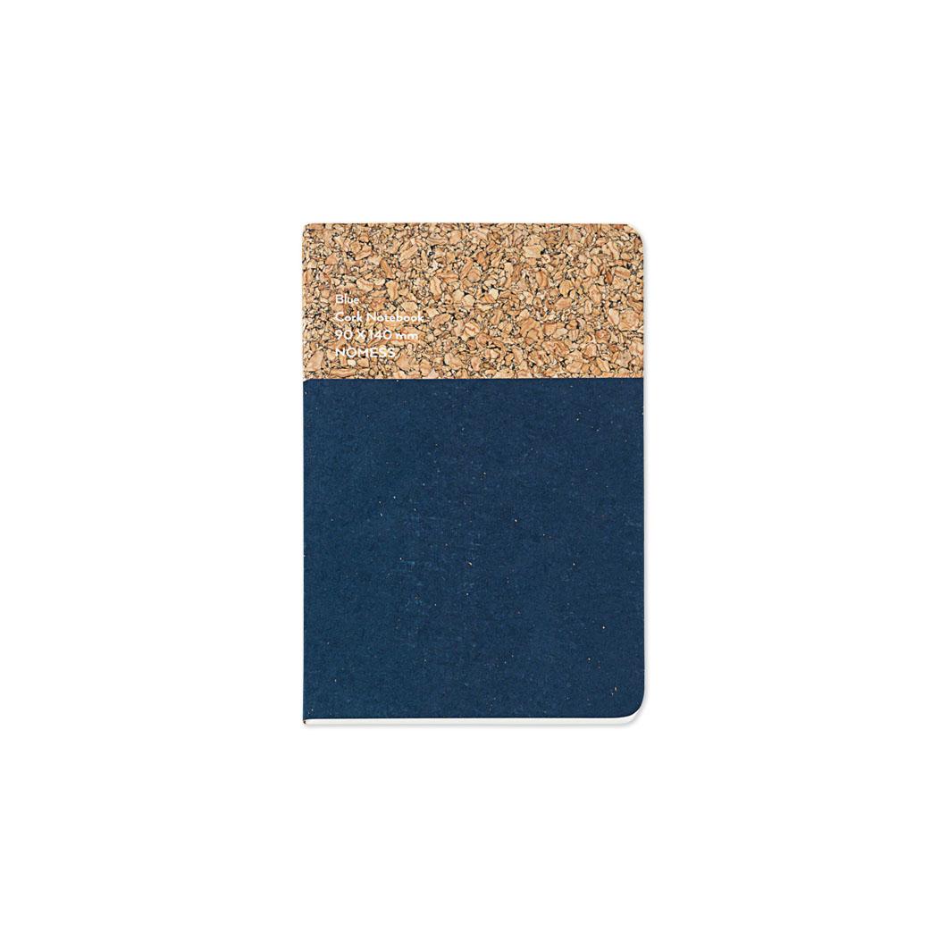 コルクノートブック S ブルーの商品画像