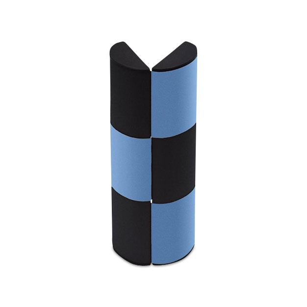 ロジック メガネケース メタリックブルー(L)の商品画像