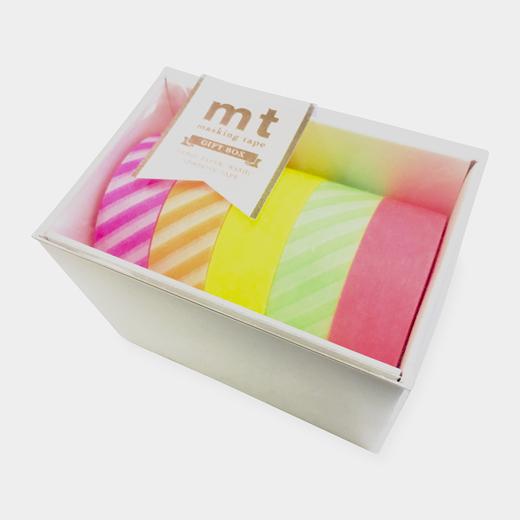 mt マスキングテープ ギフトボックス ネオン2の商品画像