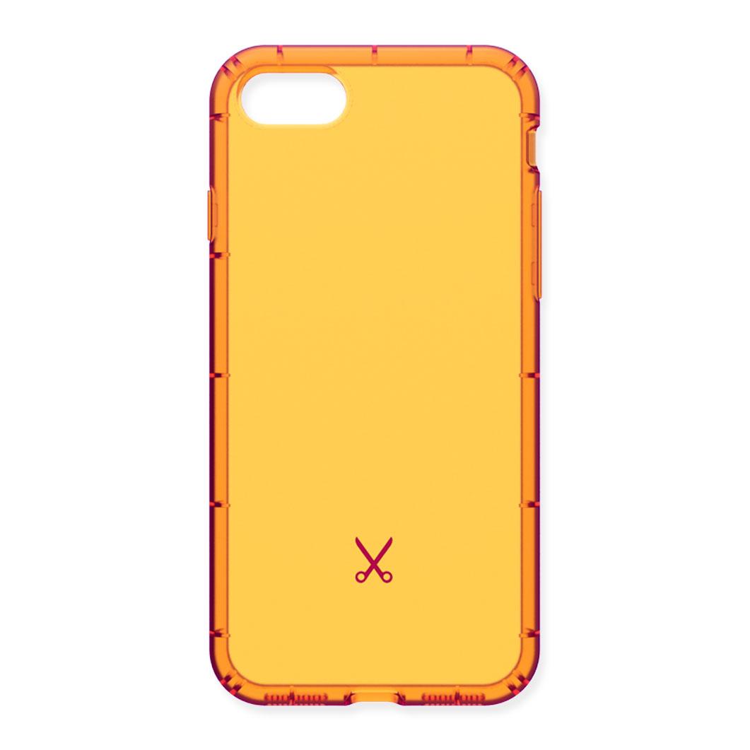 PHILO エアーショック iPhone 8/7 ケース オレンジの商品画像