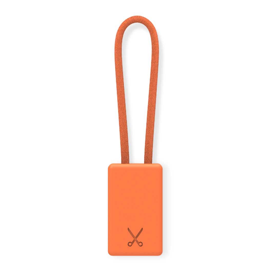 PHILO キーチェーン ケーブル オレンジの商品画像