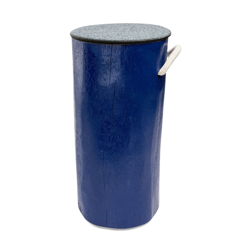 TREE4TAIL ペインテッド オーク スツール ブルーの商品画像