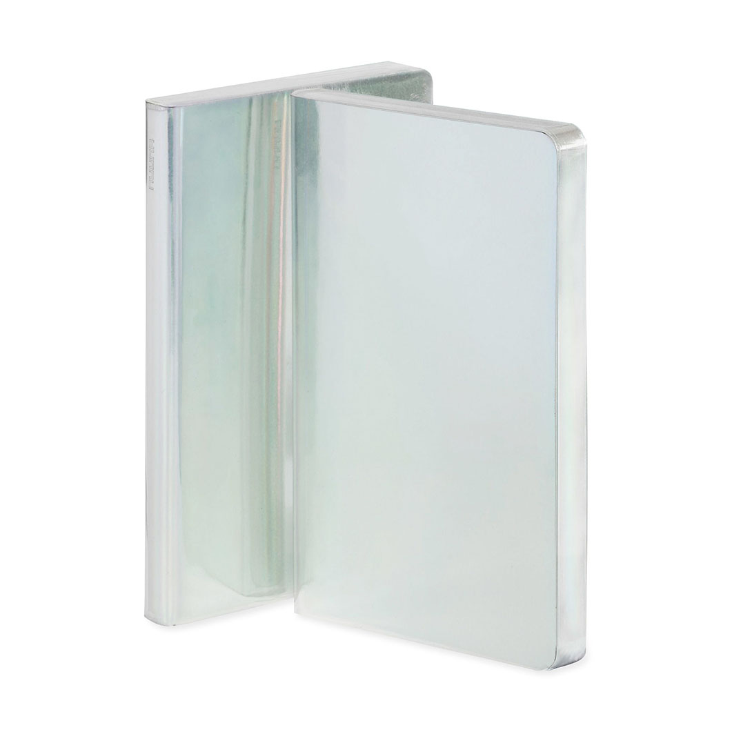 ヌーナ ノートブック ホログラム シルバーの商品画像