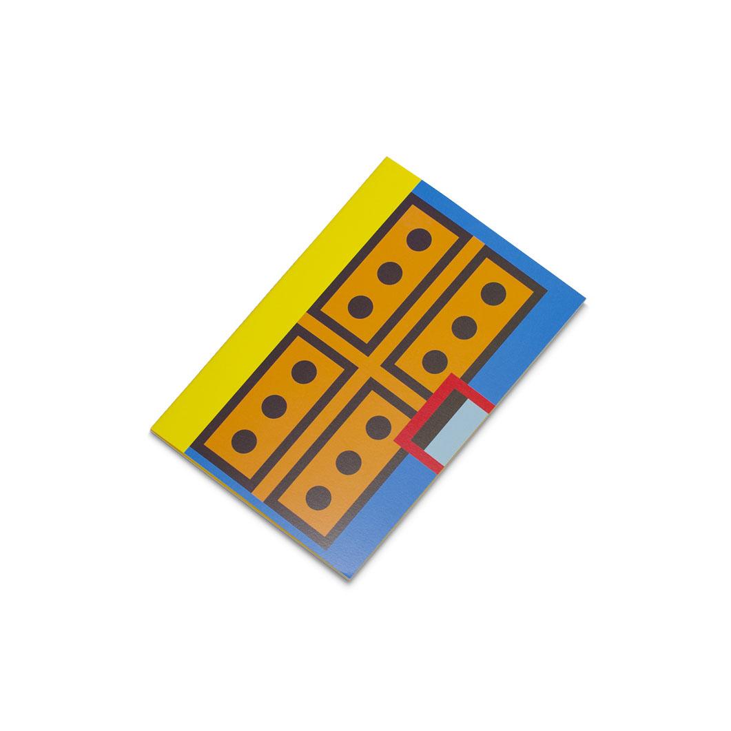 ラバーバンド パスクエ ノートブック A6 イエローの商品画像