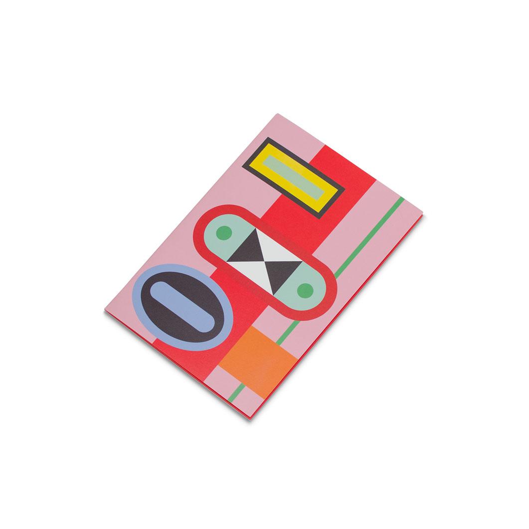 ラバーバンド パスクエ ノートブック A6 レッドの商品画像
