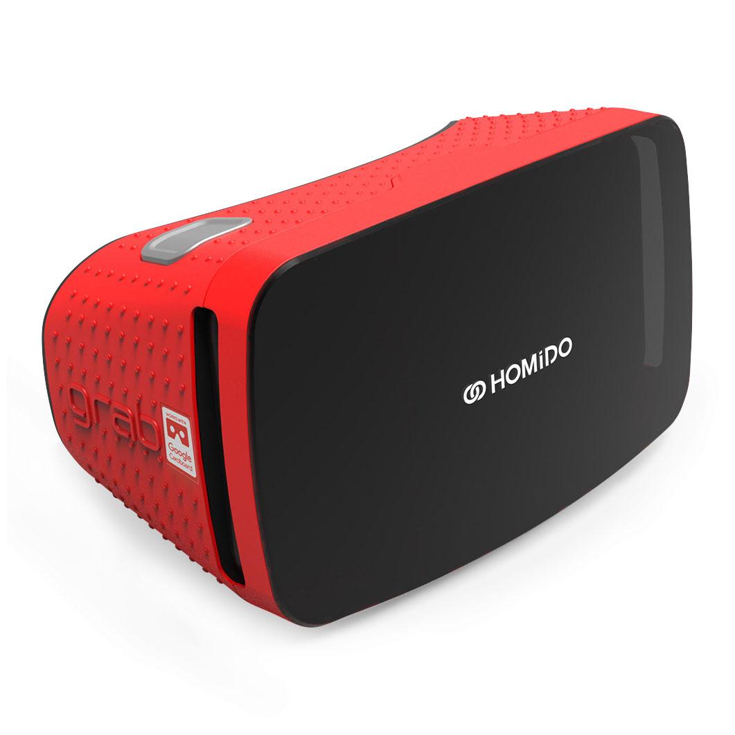 HOMiDO VRグラス グラブ レッドの商品画像