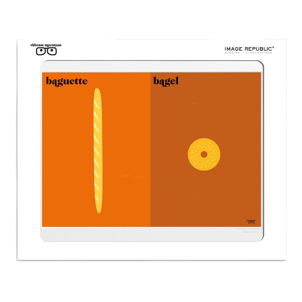 IMAGE REPUBLIC Paris vs NY パンの商品画像