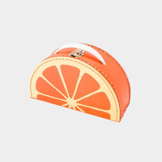30%OFF <MoMA> カードボード スーツケース オレンジ