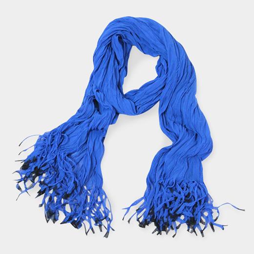 sibori フリンジストール ブルーの商品画像