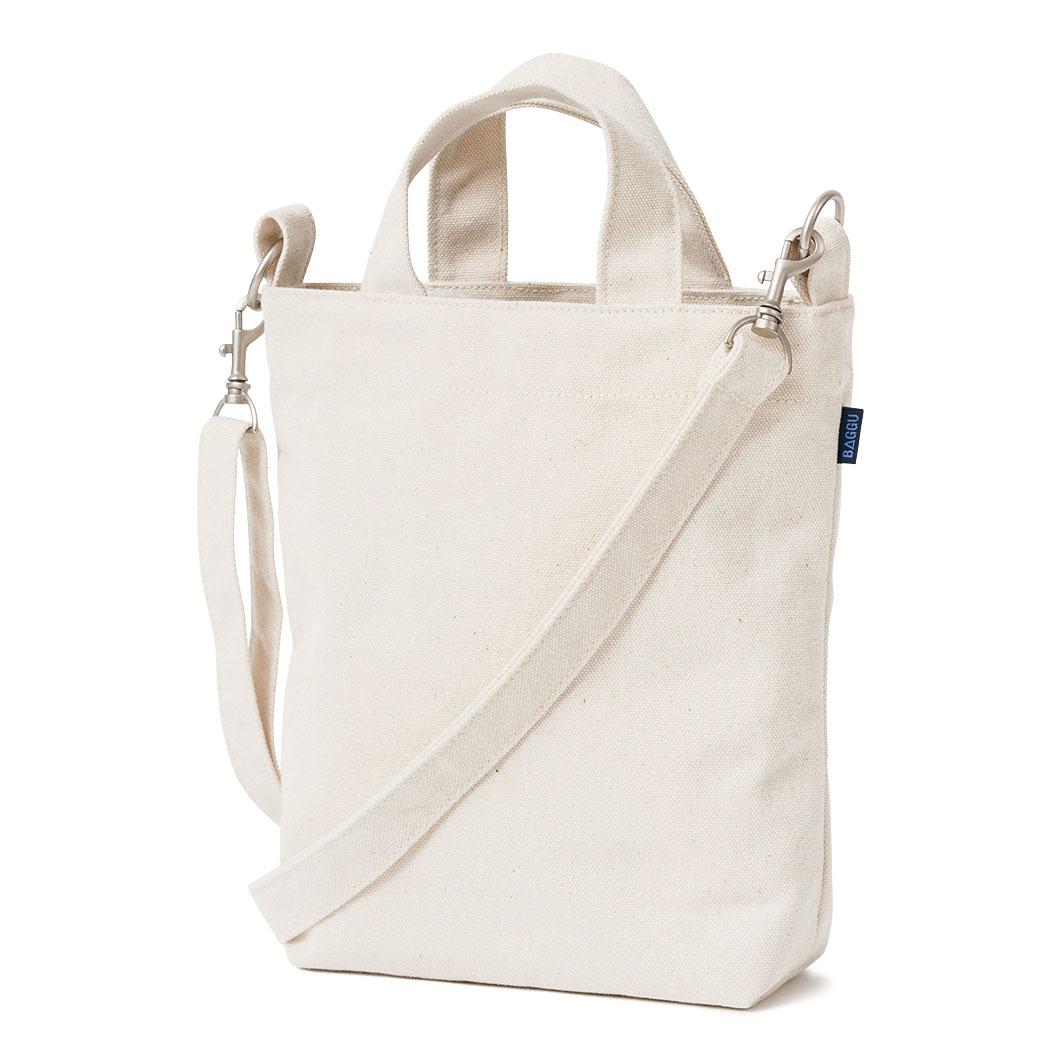 BAGGU ミニ ダックバッグ ホワイトの商品画像