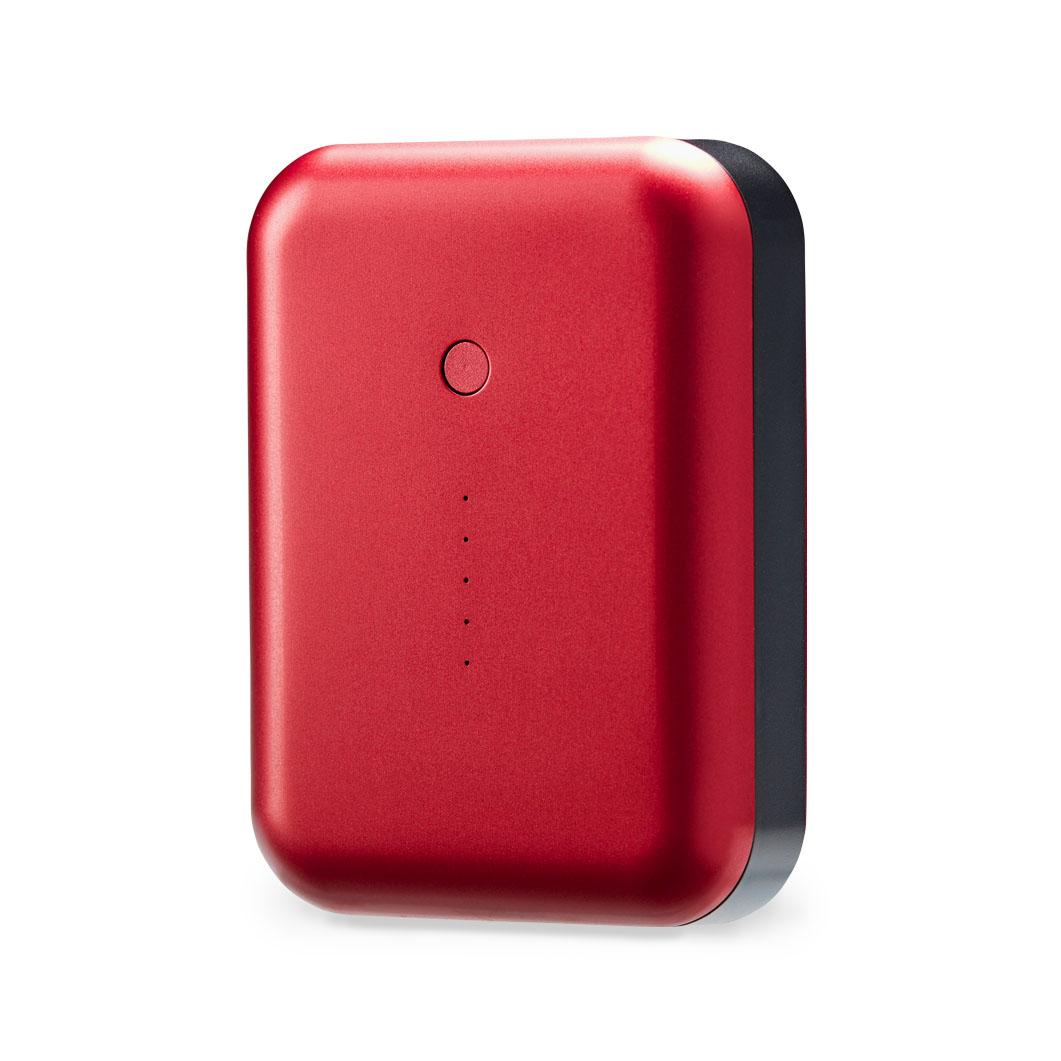 <MoMA> Gum++ モバイルバッテリー レッド
