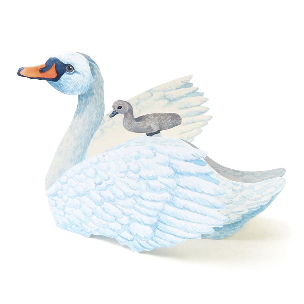 ゴルノー 3Dカード スワンの商品画像